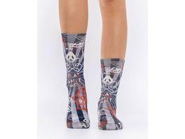 wigglesteps Damen Socken PANDA YOGA