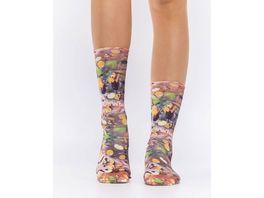 wigglesteps Damen Socken MULLED WINE
