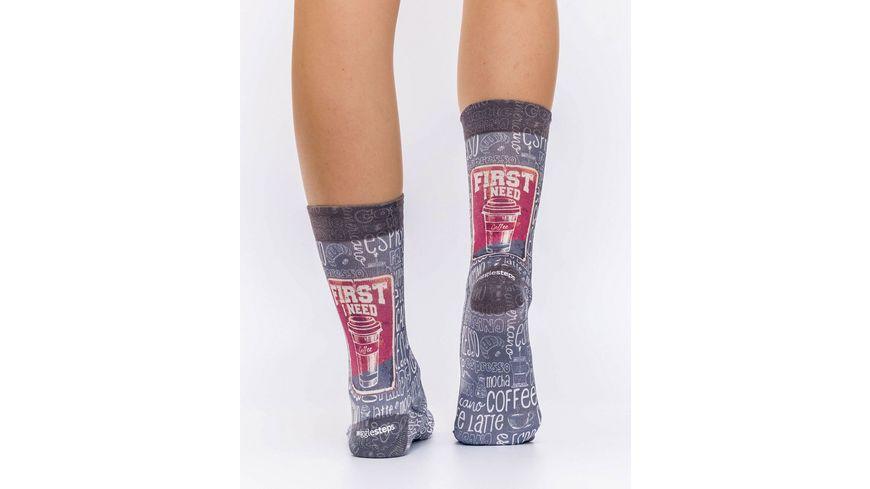 wigglesteps Damen Socken COFFEE W