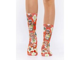 wigglesteps Damen Socken CHIWAWA PARTY