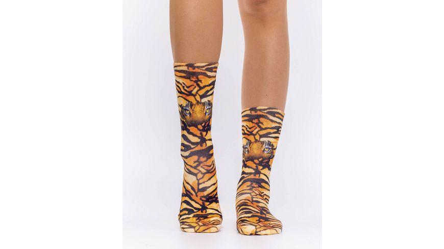 wigglesteps Damen Socke TIGER S EYES