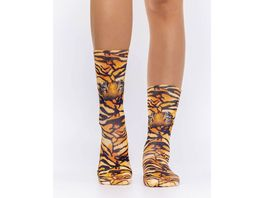 wigglesteps Damen Socken TIGER S EYES