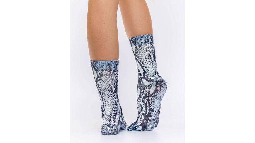 wigglesteps Damen Socke SNAKE EFFECT