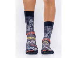 wigglesteps Herren Socke CITIES OF US