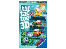 Ravensburger Spiel Mitbringspiel Tic Tac Toe 3D Gluecks und Taktikspiel ab 6 Jahren
