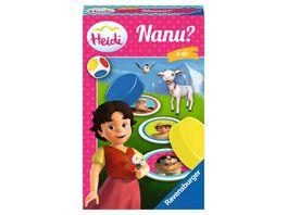 Ravensburger Spiel Mitbringspiel Heidi Nanu Ein Merkspiel fuer kleine und grosse Heidi Fans
