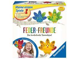 Ravensburger Spiel Feder Freunde Das kunterbunte Sammelspiel von Ravensburger ab 3 Jahren