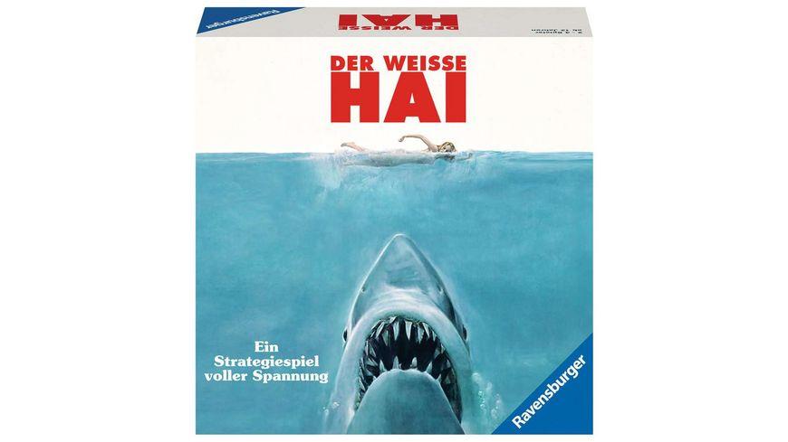 Ravensburger Spiel Der weisse Hai Spannendes Brettspiel ab 12 Jahren