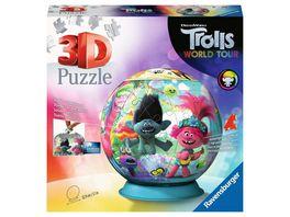 Ravensburger Puzzle 3D Puzzles Trolls World Tour 72 Teile