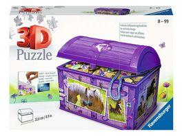 Ravensburger Puzzle 3D Puzzles Schatztruhe Pferde 216 Teile