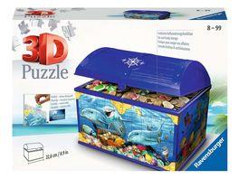Ravensburger Puzzle 3D Puzzles Schatztruhe Unterwasserwelt 216 Teile