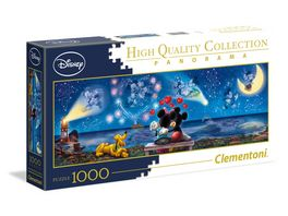 Clementoni Disney Classic Mickey Minnie 1000 teile Panorama Puzzle