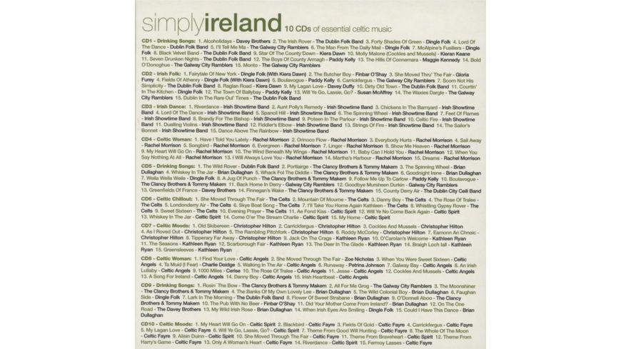 Simply Ireland 10CD