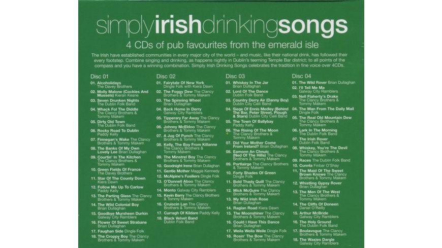 Simply Irish Drinking Songs