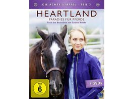 Heartland Paradies fuer Pferde Staffel 8 2 Episode 10 18 3 DVDs