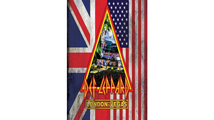 London To Vegas (Ltd.2DVD+4CD Deluxe Box)