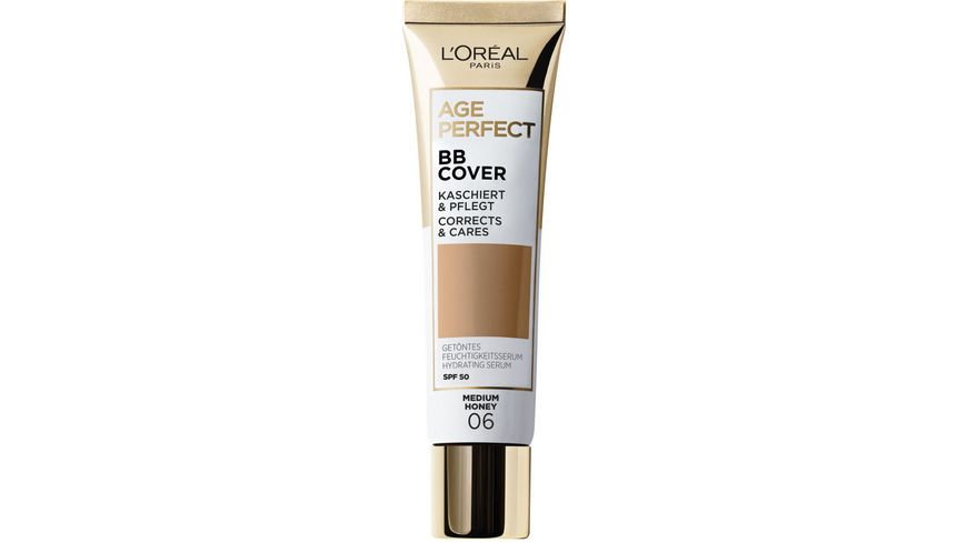 AGE PERFECT MAKE UP von L Oreal Paris Getoentes Feuchtigkeitsserum Age Perfect BB Cover