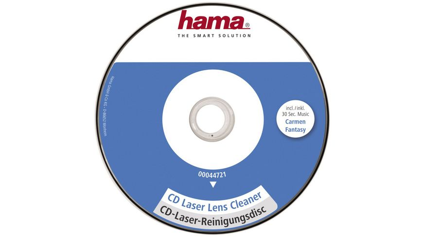 Hama CD Laserreinigungsdisc