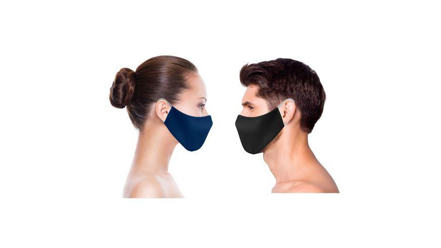 Mund und Nasenmaske Fashion 3er Set Erwachsene