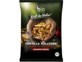 biozentrale Kraft der Natur Tortilla Roellchen Tomate