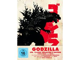 Godzilla Ltd 12 Disc Collector s Edition LTD 12 BRs