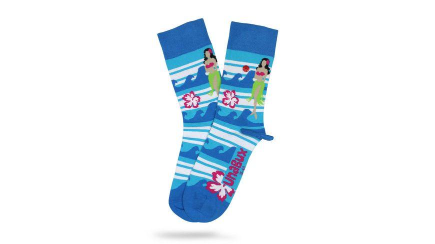 Unabux Unisex Socken Aloha