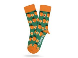 Unabux Unisex Socken Orange World