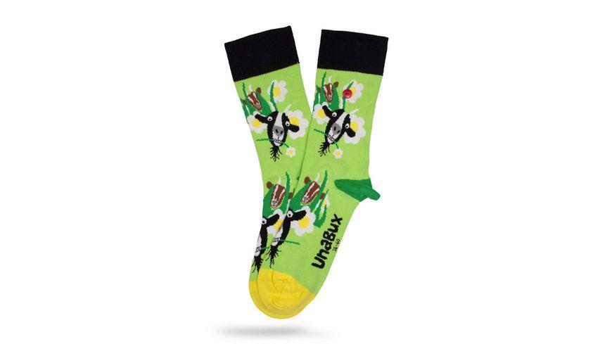 Unabux Unisex Socken Ziege