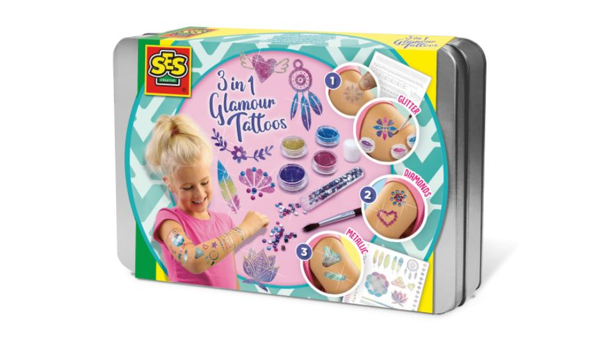 SES Creative - 3-in-1 Glamour Tattoos
