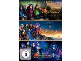 Descendants Die Nachkommen 1 3 3 DVDs