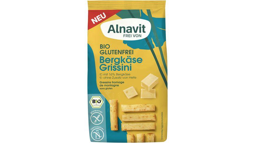 Alnavit Bergkäse Grissini - glutenfrei