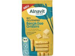 Alnavit Bergkaese Grissini glutenfrei