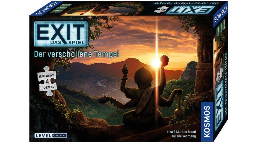 KOSMOS - EXIT - Das Spiel + Puzzle: Der verschollene Tempel