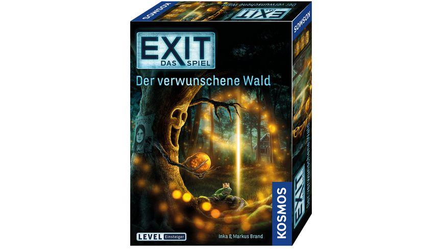 KOSMOS - EXIT - Das Spiel: Der verwunschene Wald - Level: Einsteiger