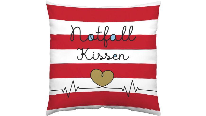 GRUSS CO Baumwollkissen Notfall Kissen