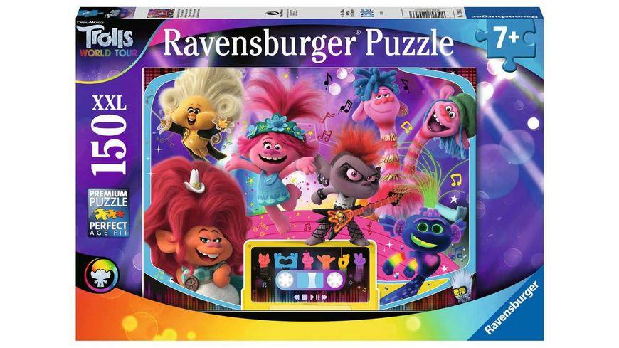 Ravensburger Puzzle Trolls Zusammen sind wir stark 150 XXL Teile