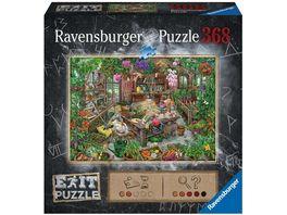 Ravensburger Puzzle Im Gewaechshaus 368 Teile
