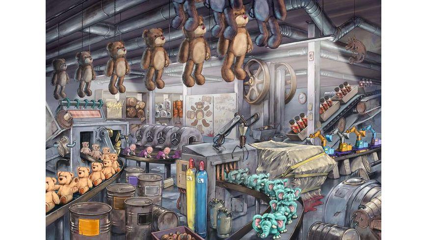 Ravensburger Puzzle In der Spielzeugfabrik 368 Teile