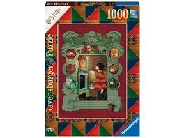 Ravensburger Puzzle Harry Potter bei der Weasley Familie 1000 Teile