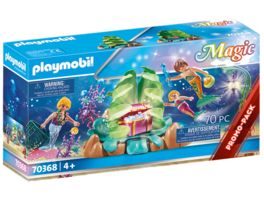 PLAYMOBIL 70368 Magic Korallen Lounge der Meerjungfrauen