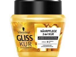 SCHWARZKOPF GLISS KUR Naehrpflege 2 in 1 Kur Oil Nutritive