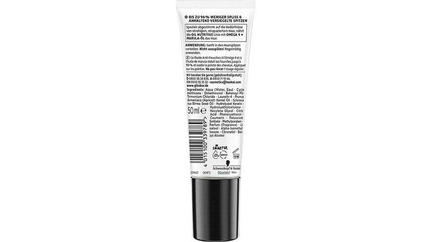 SCHWARZKOPF GLISS KUR Haarspitzenfluid Oil Nutritive