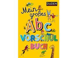 Mein grosses Abc Vorschulbuch