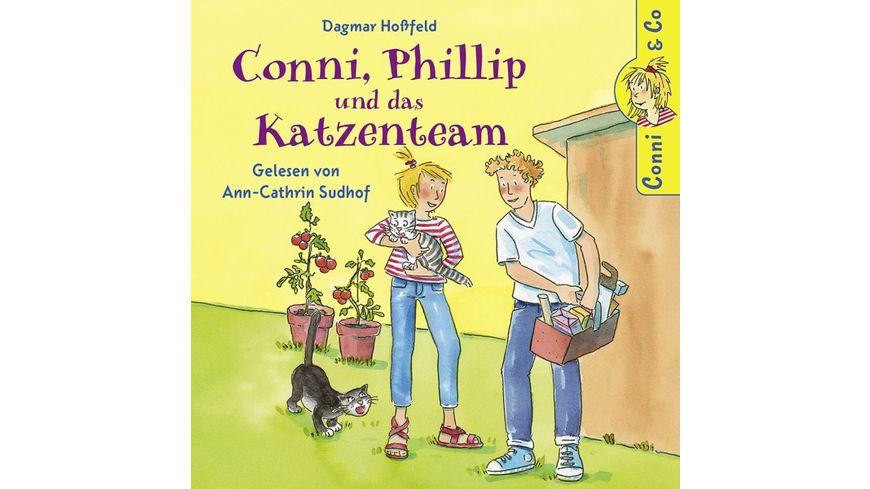 D Hossfeld Conni Phillip Und Das Katzenteam