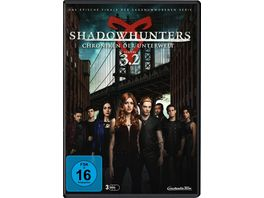 Shadowhunters Chroniken der Unterwelt Staffel 3 2 3 DVDs