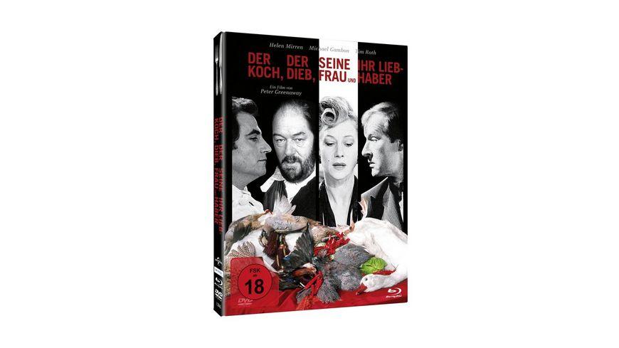 Der Koch der Dieb seine Frau und ihr Liebhaber Mediabook DVD