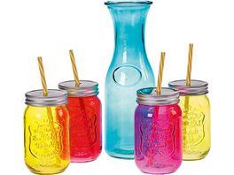 Trinkglas Set 5 tlg