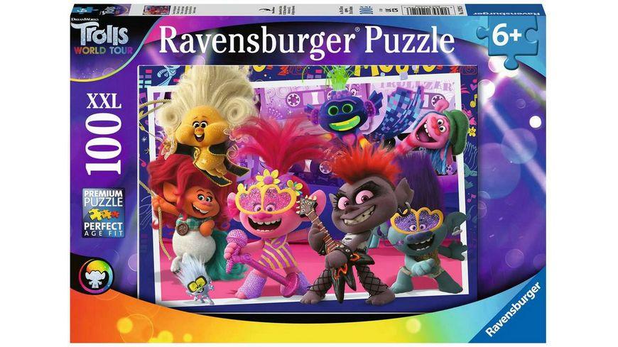 Ravensburger Puzzle Trolls Unsere Lieblingslieder 100 XXL Teile