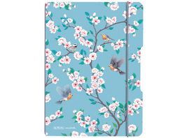 herlitz my book flex Notizheft PP A5 40Blatt kariert Ladylike Birds