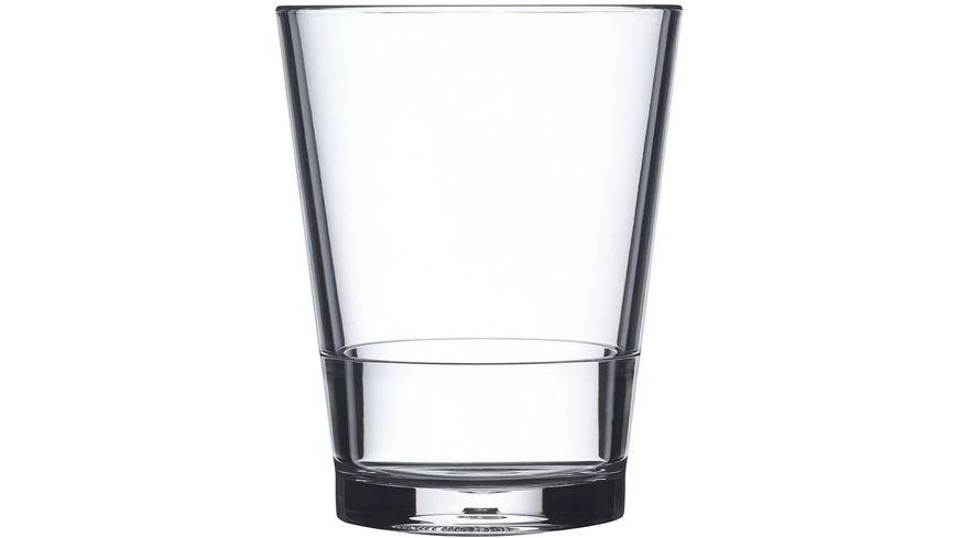 MEPAL Kunststoffglas Flow 200ml 2er Set